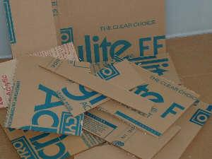 Acrylic /Plexiglas Variety Box 45 Pounds
