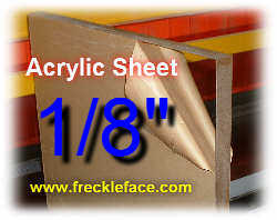 Acrylic Sheet 1 4 Thick Plexiglass Sheet