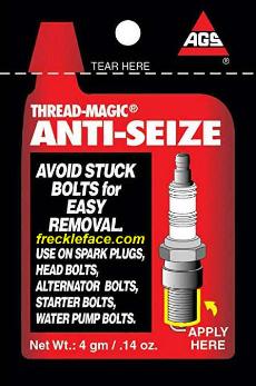 thread magic ags anti seize compound packet