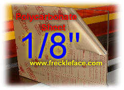 Polycarbonate Sheet 1 8 Quot Thick