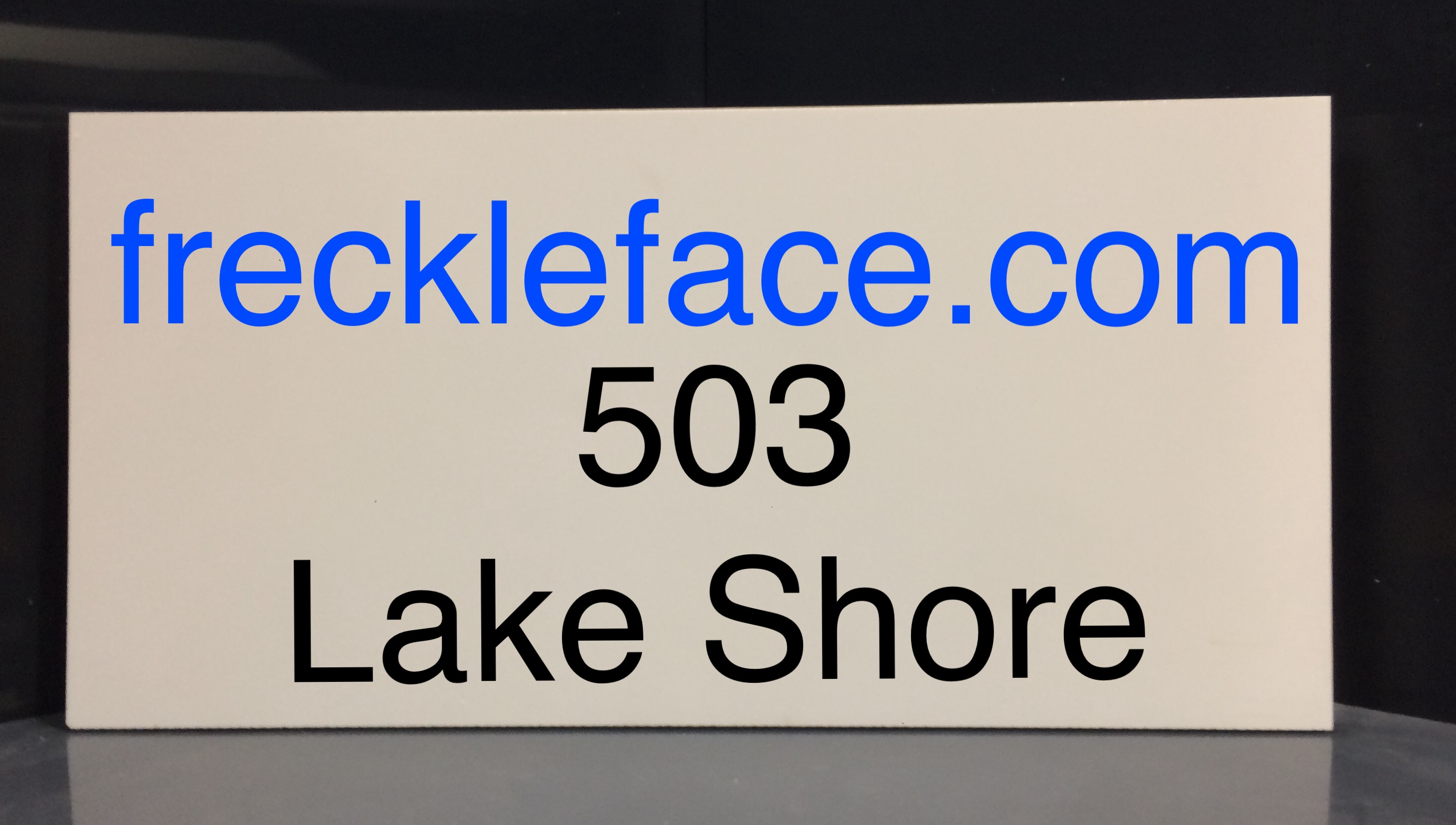 rectangle cellular pvc sign blank