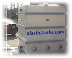 plastic chiller tank