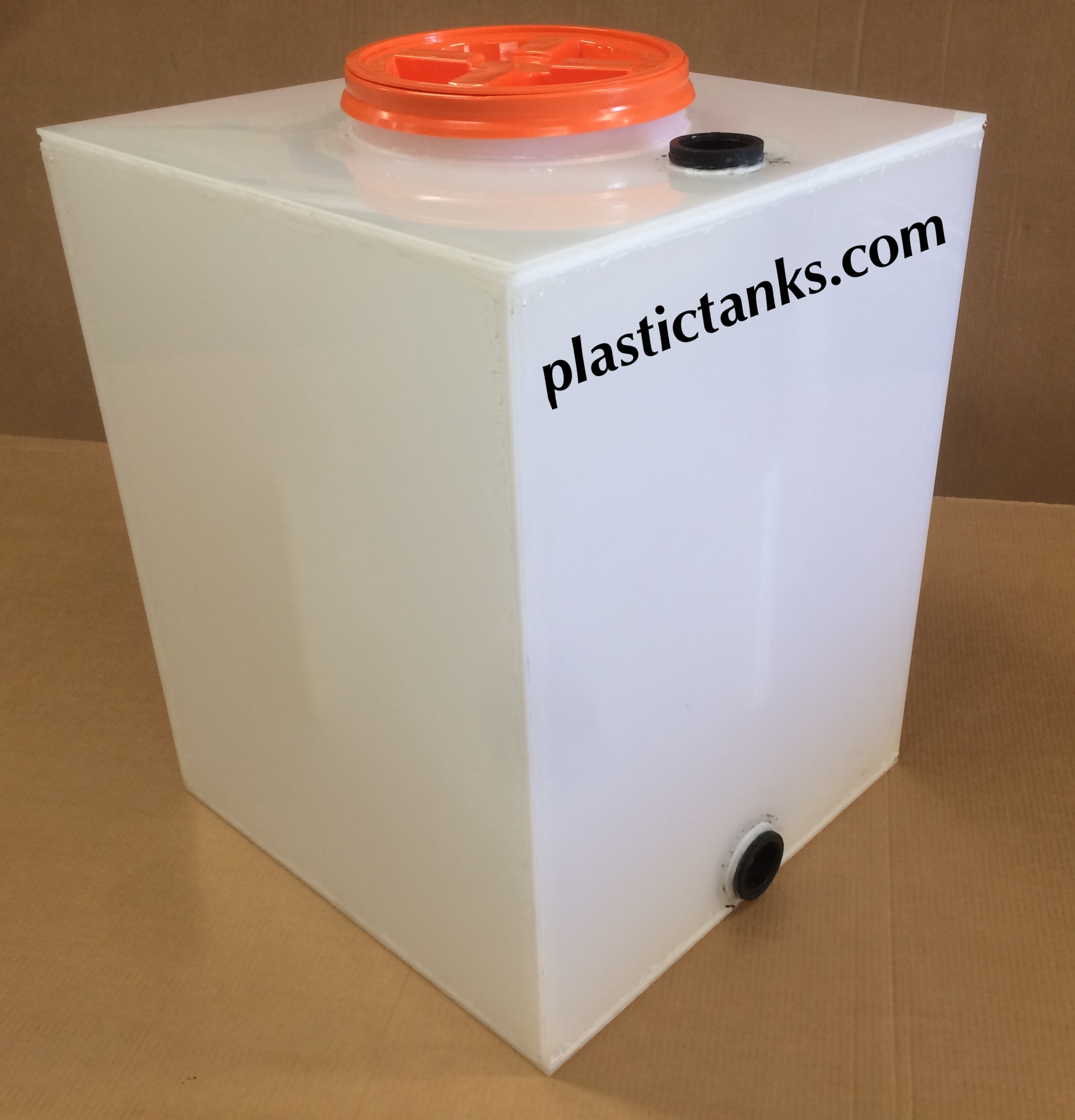 small enclosed polypropylene tank