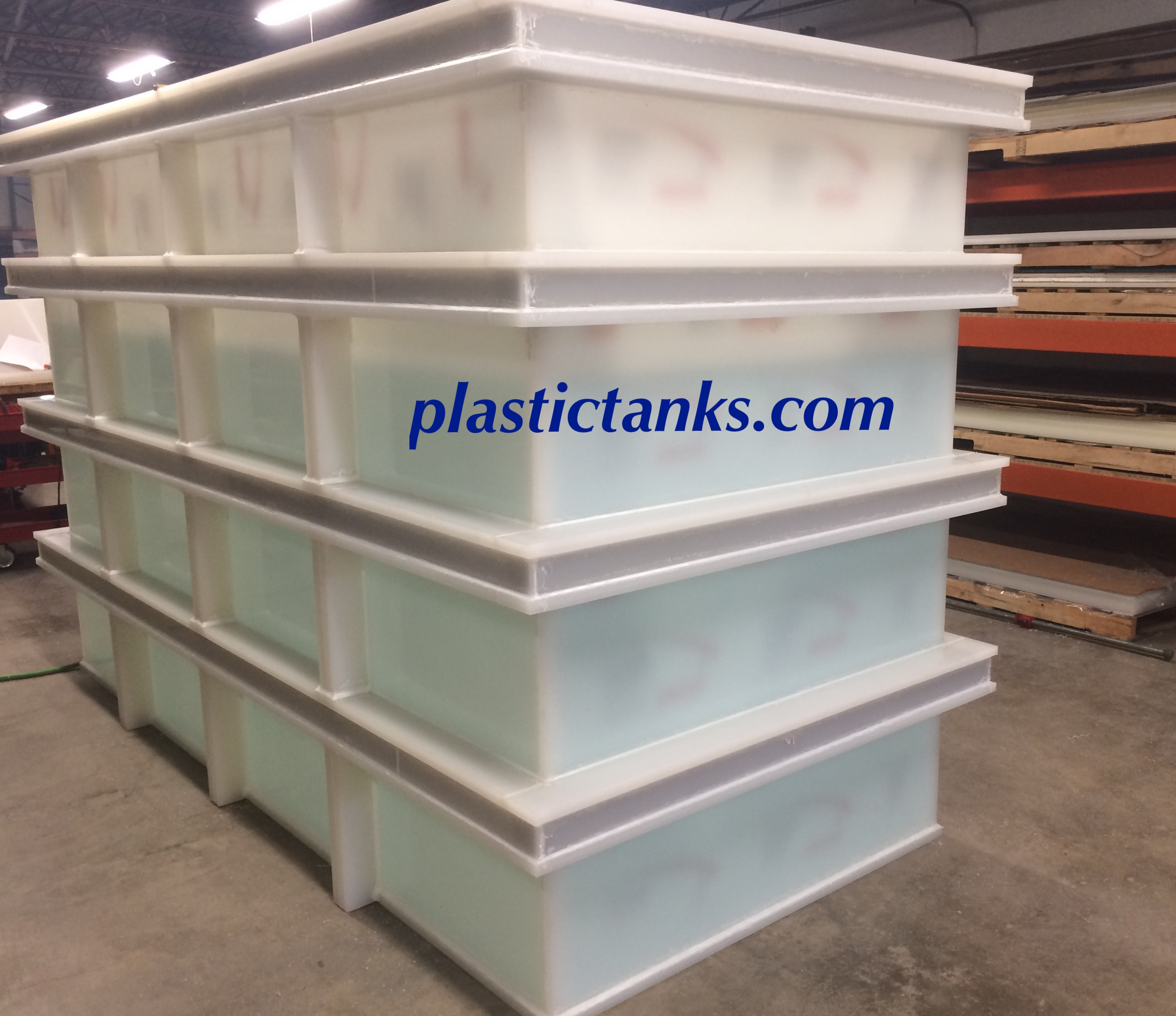 Large Polypropylene Plating Tanks Polypropylene Tanks