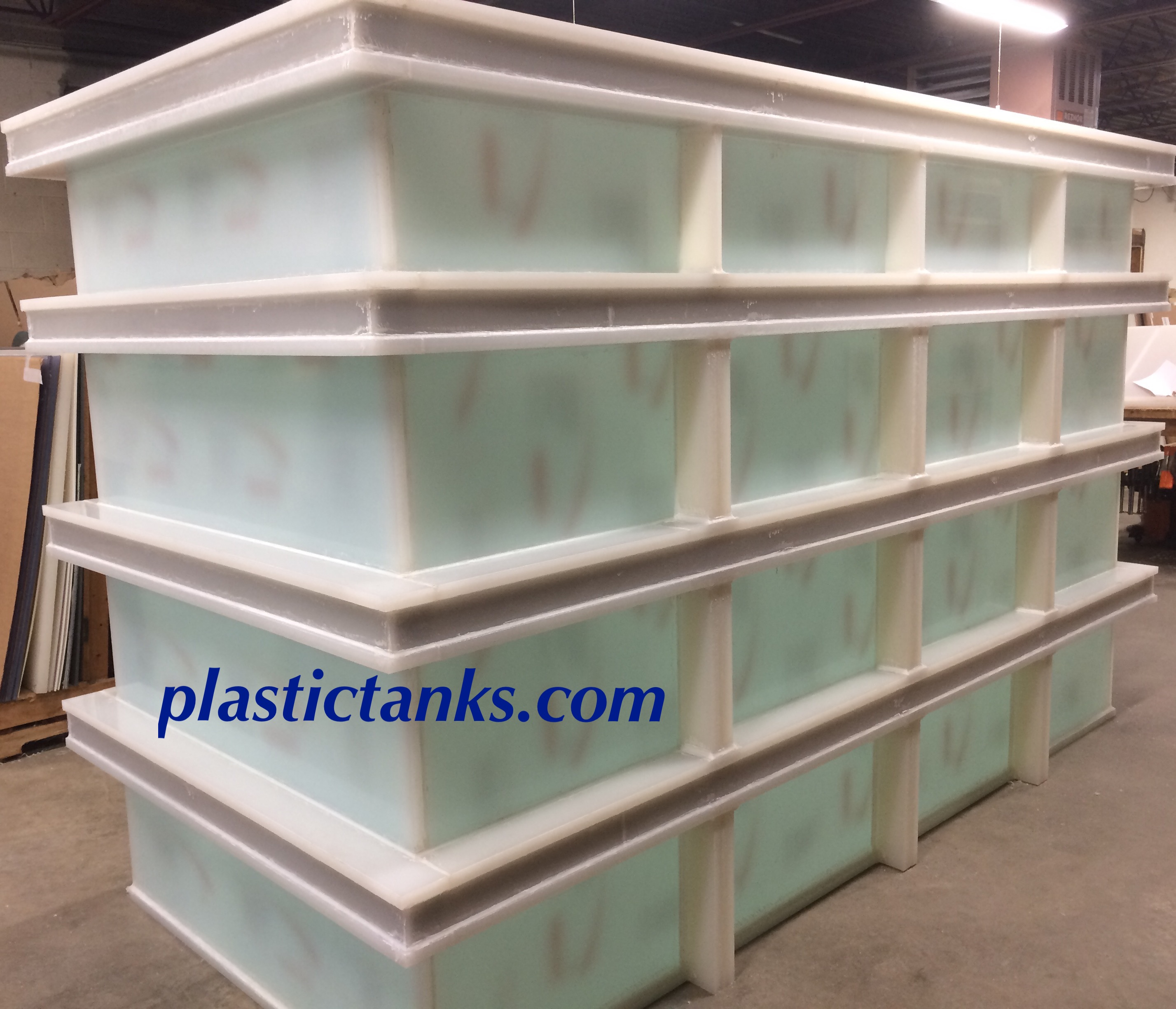 Large Polypropylene Plating Tank Large