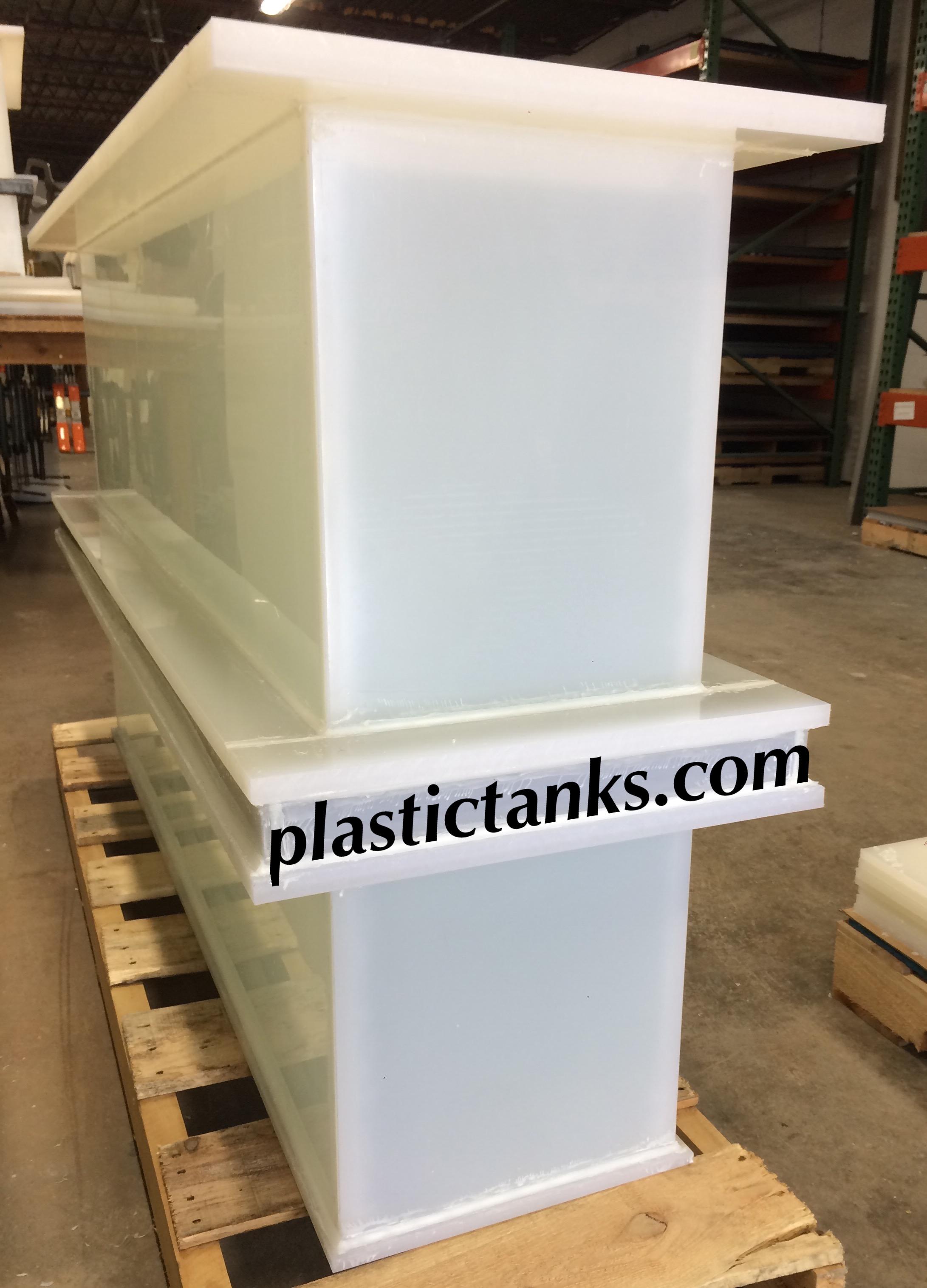 narrow plating tank