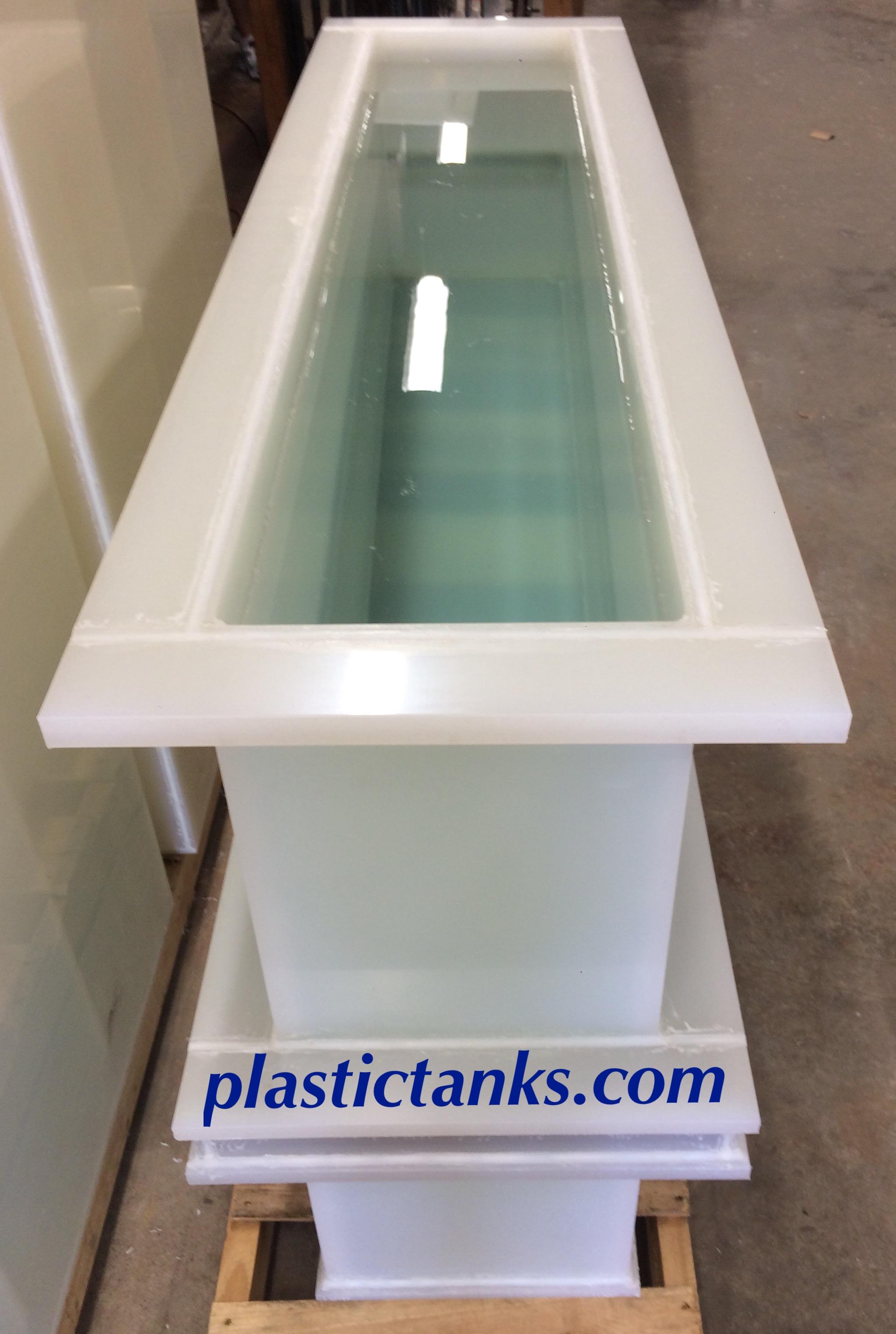 narrow polypropylene tank